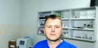 Radomir Petrović - vetrinar u plavoj uniformi